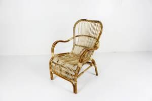 Кресло Плай CRUZO натуральный ротанг светло-коричневый (kp0011)