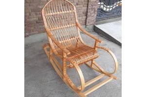 Крісло-качалка из лози