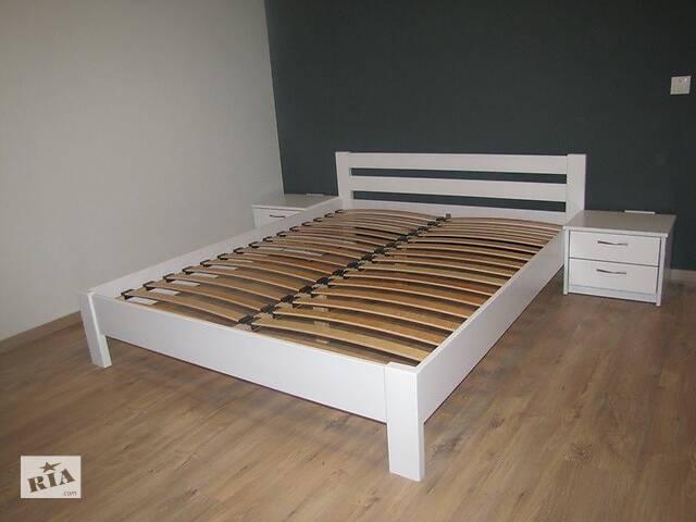 купить бу Ліжко Рената 120x200 Естелла Білий колір в Вінниці