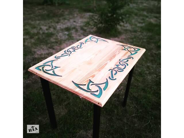бу Эксклюзивный стол ручной работы с узором. (Светится ночью) в Кобеляках