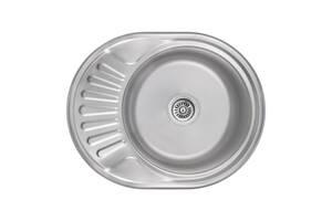 Кухонная мойка Lidz 5745 Satin 0,8 мм (LIDZ5745SAT08) SD00040935