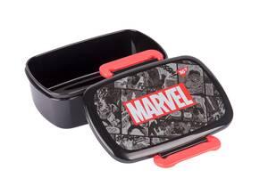 Ланчбокс Марвел из пищевого пластика прямоугольный на два клапана YES Marvel.Avengers 750мл (5056137168798)