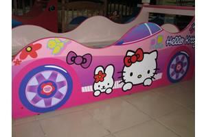 Дитяче ліжко-машинка для хлопчиків та дівчаток