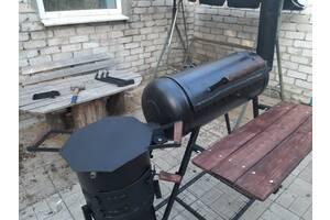Мангал, барбекю, печь под котел
