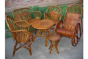 Мебель плетеная из лозы от изготовителя.