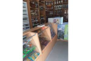 Мебель б/у-стеллажи, витрины для магазина