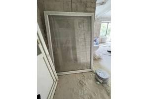 Металопластикові двері та вікна б/у