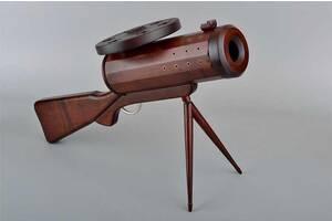 Подставка под бутылку пулемет BST 60x40 см деревянный 090036