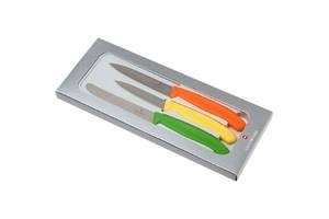 Набор кухонный Викторинокс SwissClassic Paring Set 3 ножа с червь/Помар/зел.ручкою (8,10,11см)