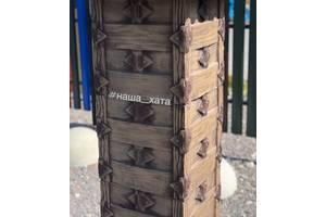 Наборные столбики для забора от производителя Наша Хата