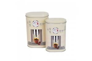 Набір банок з 2 шт Italian Coffee SKL79-237967