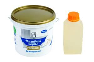 Наливний рідкий акрил Plastall Premium для реставрації ванн 1.5 л (SUN4412)