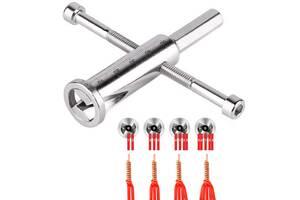 Насадка инструмент на шуруповерт дрель для скрутки и зачистки проводов