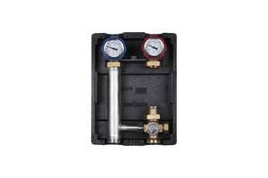 """Насосна група з термостатичним змішувачем Icma 1"""" 1/2х1"""" підключення справа, без насоса №R004"""