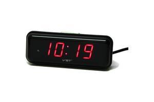 Настольные часы с будильником цифровые VST LED VST-738-1 Красный (20053100294)