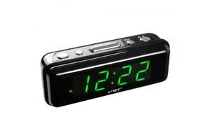 Настільний годинник з будильником цифрові VST VST-738-4 Чорний (20053100293)