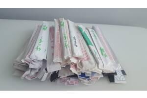 Новые палочки для суши и роллов в упаковках 100 пар