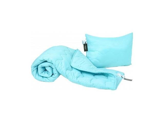 Одеяло MirSon Набор Eco-Soft Всесезонный 1694 Eco Light Blue Одеяло + поду (2200002655361)- объявление о продаже  в Харькове