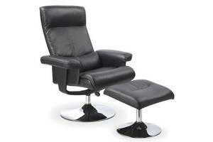Офисное кресло с пуфиком