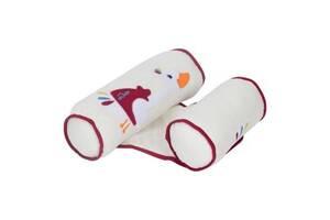 Пеленальний матрацик Sevi Bebe валик -позіціонер для сну, білий (8692241433000)