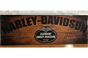 Подарок мужчине Harley-Davidson картина лофт ключница Харли Дэвидсон