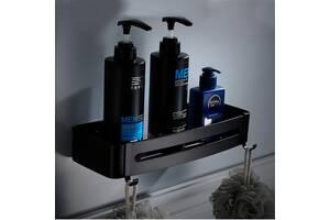 Полка с крючками Art Design Rondo 55043 черная