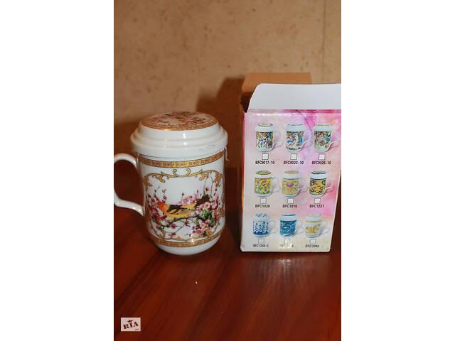 бу Продам чашку-заварник с рисунком в Харькове