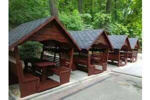 Продам деревьев& # 039; деревянные беседку щодо9500, беседку