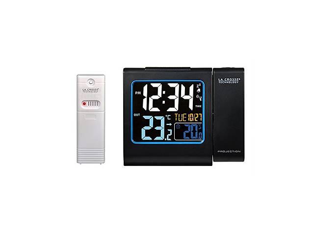 купить бу Проекционные часы La Crosse WT552-Black LCrss921499 в Киеве