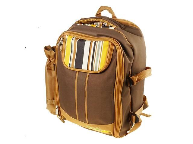 Рюкзак з набором для пікніка на 4 персони - посуд, столові прибори, плед- объявление о продаже  в Одесі