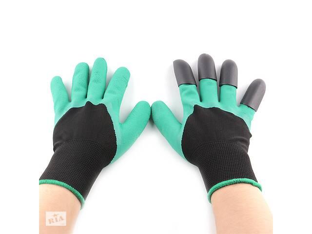 купить бу Садовые перчатки Garden Genie Gloves AY27288 Зеленый (hub_np2_0435) в Киеве