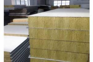 Сендвіч - Панелі, облицювальний з пінополістиролу і мінеральної вати від заводу виробника!