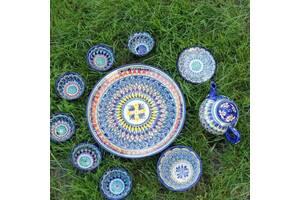 Сервиз узбекский Риштан на 10 предметов