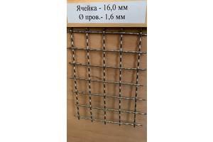 Сетка нержавеющая тканая от 0.4х0.4х0.2мм до 30х30х2мм пищевая 304
