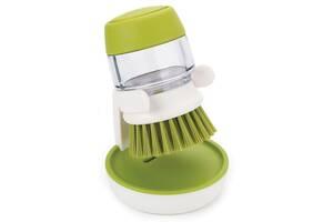 Щетка для мытья посуды Jesopb с дозатором для моющего средства N01232 (gr_007357)