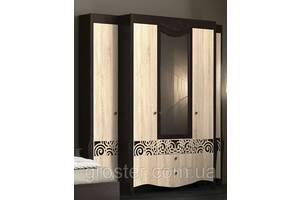Шкаф 1516 с приставными пеналами Гефест. Мебель для гостиной, спальни