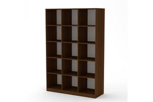 Шкаф книжный Компанит КШ-3 Орех Экко