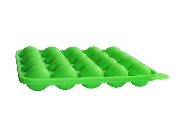 купить бу Силиконовая форма для Кейк Попсов (CAKE POPS) 23х19 см 20 ячеек Зеленая (psg_HH-652) в Киеве