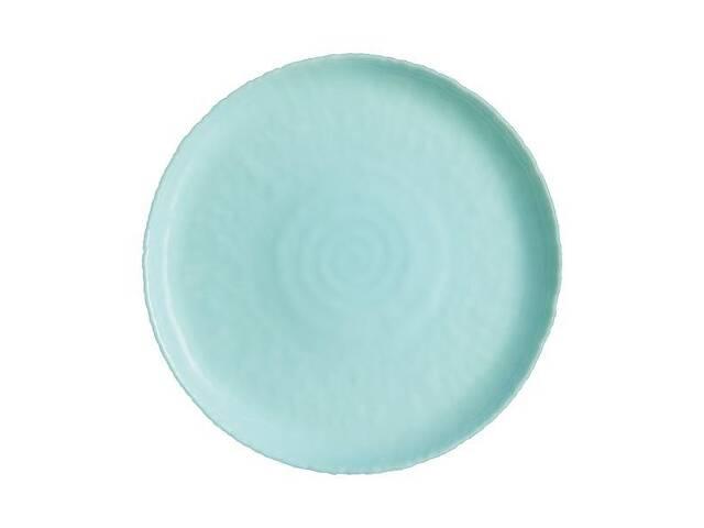 купить бу Тарелка обеденная круглая Luminarc Ammonite Turquoise 26 см P9918 в Чернигове