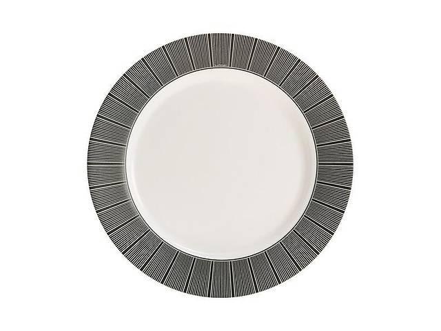 продам Тарелка обеденная круглая Luminarc Astre Black 26 см P6135 бу в Чернигове