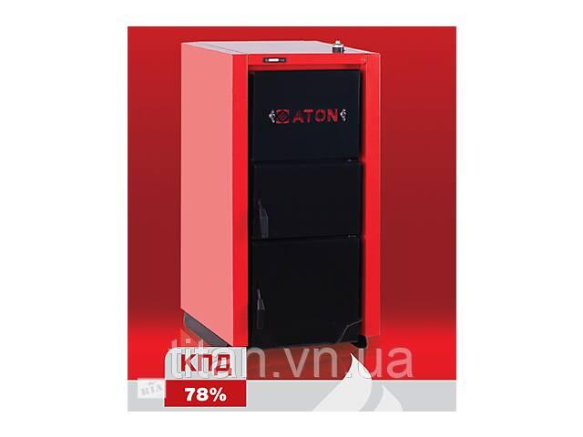 продам Твердотопливный котел ATON Multi 16 кВт + регулятор тяги бу в Виннице