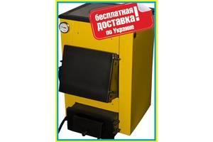 Твердотопливный котел Буран-мини 12 кВт с плитой