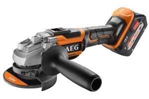 Угловая шлифмашина AEG BEWS18-125BL-502C