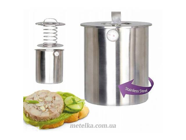 купить бу Ветчинница Kamille с термометром 2,5 кг (6513) в Одессе