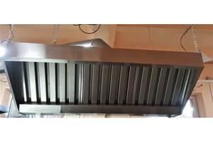 Вытяжка кухонная с жироулавливателем Tehma 1250*1000*350