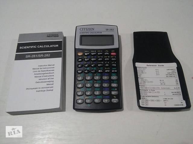 Инженерный калькулятор Citizen SR-282- объявление о продаже  в Мариуполе