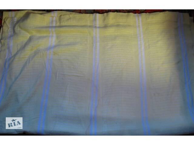купить бу занавеска штора гардина жёлтая 85 210 +, советская хозяйственная, торг в Запорожье