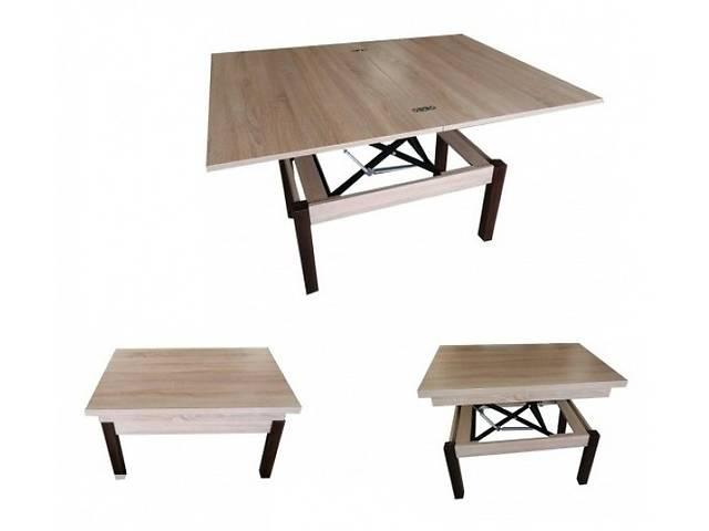 купить бу Журнальный стол столик трансформер Микс Мебель™ / Неман™ Флай / Баттерфлай Дуб сонома в Киеве