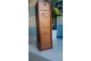 Короб для винной церемонии, шкатулка для обручальных колец