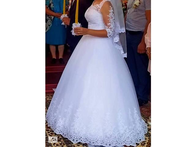 продам Продам свадебное платье бу в Луцке